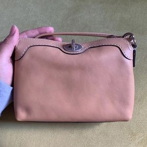 Coach Leather Wristlet Wallet